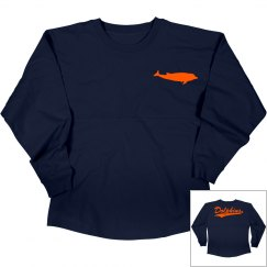 Dolphins long sleeve shirt.