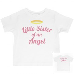 Little Sister Custom Memorial Shirt