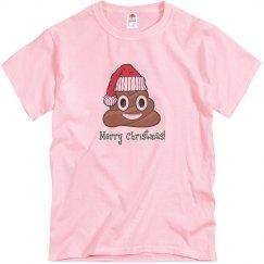 Santa Poop Clause pink