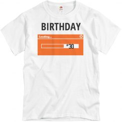 30th birthday loading