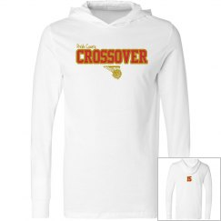 Crossover L/S hooded tee