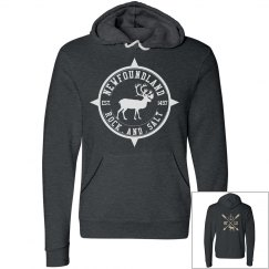 Rock and salt Caribou hoodie