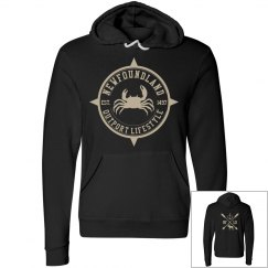 Newfoundland Outport Lifestyle Crab hoodie