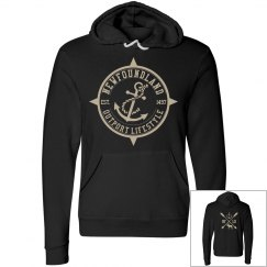Newfoundland Outport Lifestyle Anchor hoodie