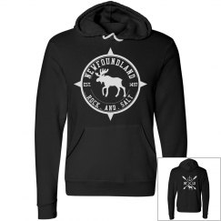 Newfoundland Rock.and.Salt Moose Hoodie