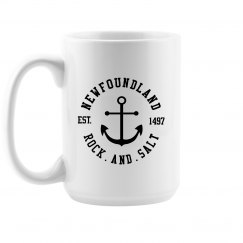 Newfoundland Rock and Salt Mug