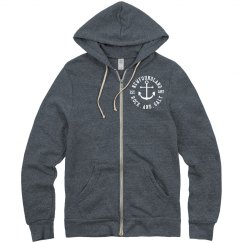Newfoundland Rock and Salt zip up hoodie