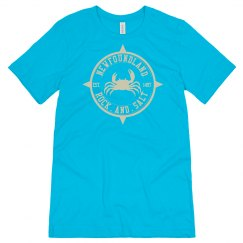 Newfoundland Rock and Salt T-shirt