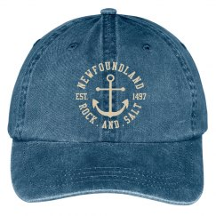 Navy canvas rock and Salt cap