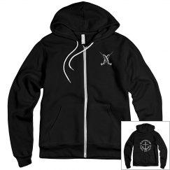Narwhal rock and salt hoodie