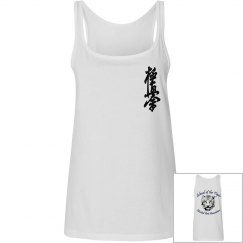 Ladies Relaxed Fit Tank with Kanji and Logo