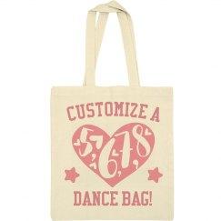 8 Count Dance Tote Bag