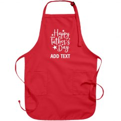 Custom Happy Father's Day Apron