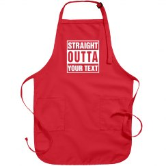 Straight Outta Custom Text Gift