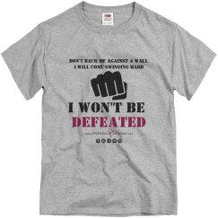 """Defeated"" Unisex T-Shirt"