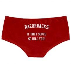 Razorback Score Panty