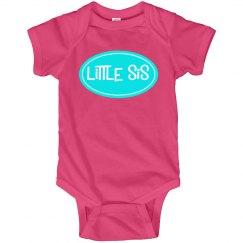 Little Sis Sister Onesie Tshirt