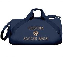Custom Metallic Soccer Bags