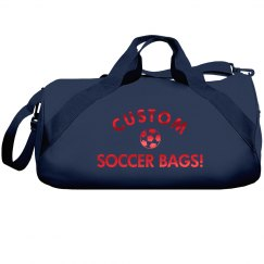 Custom Metallic Soccer Bags