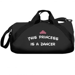 This princess is a dancer