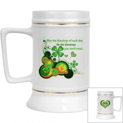 Irish Blessing, Beer Stein
