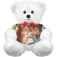 Custom Photo Upload Romantic Bear