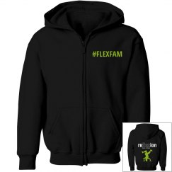 YOUTH FLEXFAM POSE HOODIE