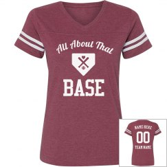 Cute I'm All About That Base-Ball