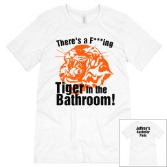 Bachelor Tiger Bathroom