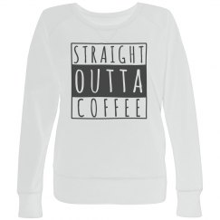 Straight Outta Coffee Plus Pullover