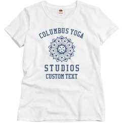 Personalized Yoga Studio Tees