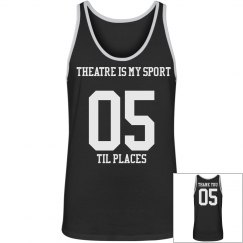 Theatre is my Sport Basketball Jersey