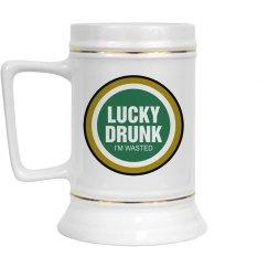 Lucky Drunk Spoof Logo