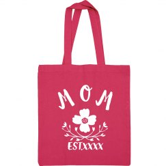 Custom Trendy Mothers Day Bag Tote