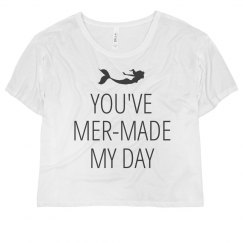 Mermaid My Day Shirt