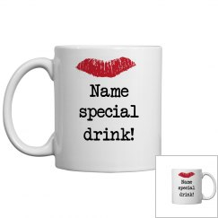 Woman's Special Drink Mug