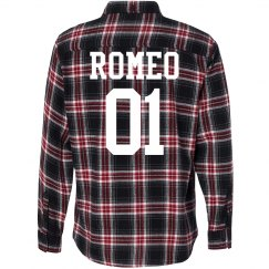 Romeo Matching Couple Flannels