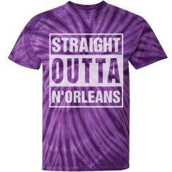 Purple Tie Dye Outta N'Orleans