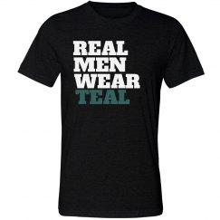 Real Men Wear Teal