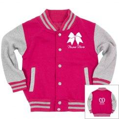 Custom Text Cheer Squad Jacket