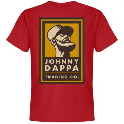 Johnny Dappa Trading Co. Vertical Tag Logo