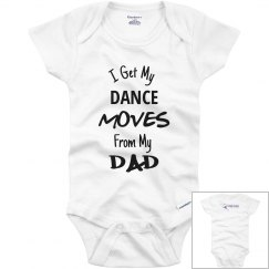 Dance Moves Onesie - Dad