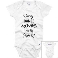 Dance Moves Onesie - MOM
