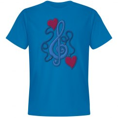 Plugged In To Music Tee 2