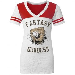Fantasy Baseball Goddess shirt