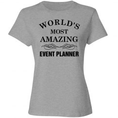 World's greatest event planner