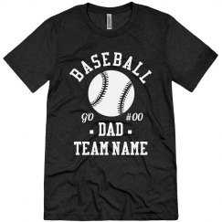 Baseball Dad Add Team Name