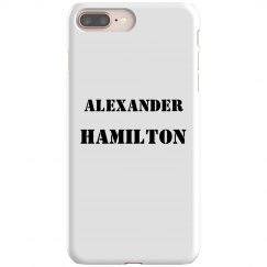 Alexander Hamilton Phone Case