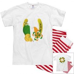 Lucky Gold Horseshoe, Pillow