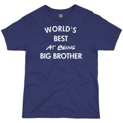 Best at being big brother